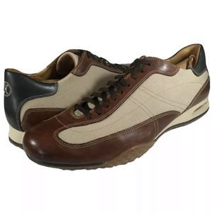 Cole Haan Air Granada Sport Oxfords Leather Canvas